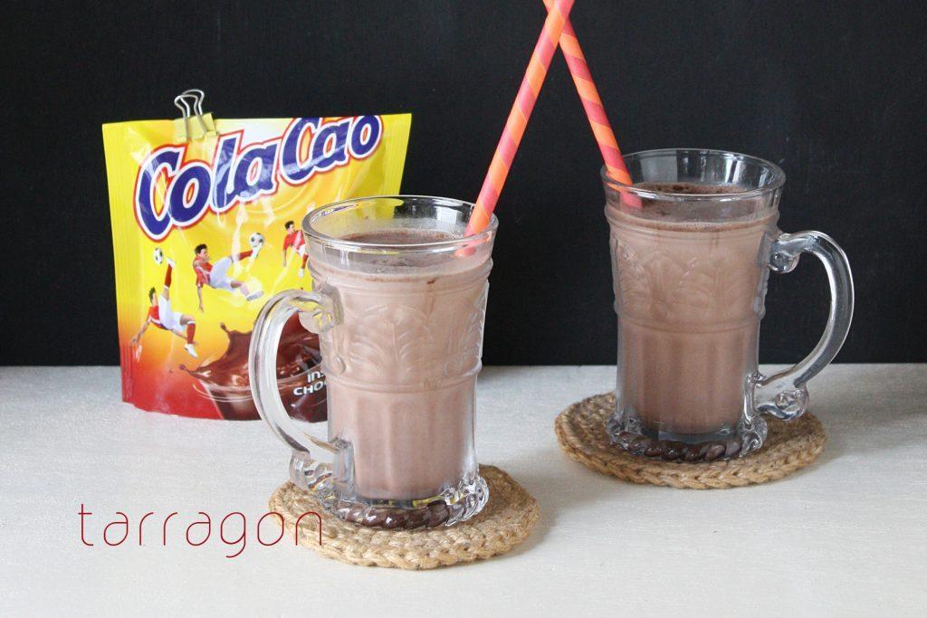 腸内環境を整える一杯♪つぶして混ぜるだけの「豆乳バナナココア」 by:タラゴン(奥津純子)さん