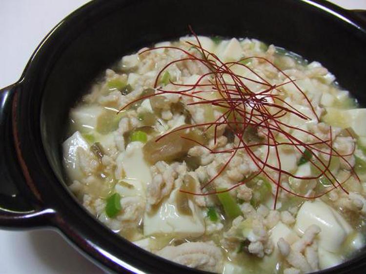 ノンオイル♪塩麻婆豆腐 by:さちくっかりーさん