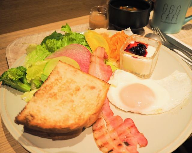 野菜がたっぷり食べられるカフェレストラン「GGG CAFÉ」
