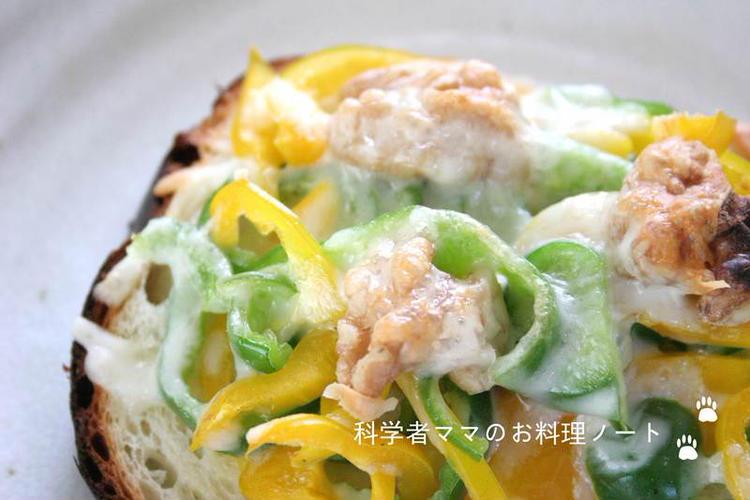 (パプリカとくるみのトースト by:nickyさん)