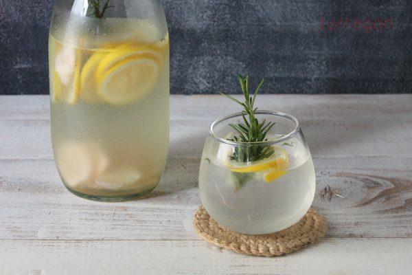 すっきり疲労回復♪5分で簡単「レモンと生姜のサワードリンク」