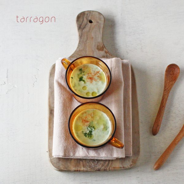 ミキサーいらず!じゃがいもとアボカドの冷製ポタージュ by:タラゴン(奥津純子)さん