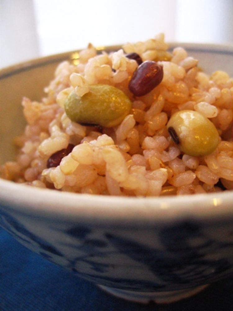 玄米豆ごはん by:PONCYANさん