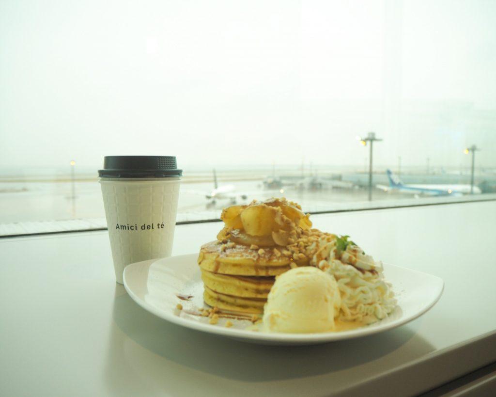 眺望抜群!「空とヒコーキと海の見えるカフェ Amici del te」
