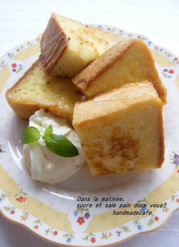 めちゃ美味しい♪ふわふわ塩フレンチトースト by:高羽ゆきさん