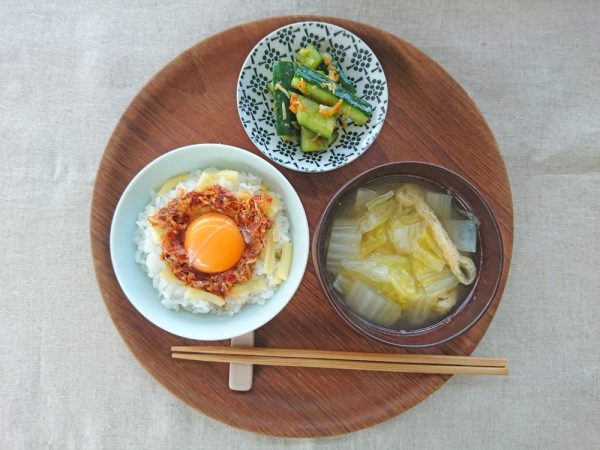 火いらずで夏にぴったり!「卵かけごはん」アレンジ4つ by:料理家 村山瑛子さん