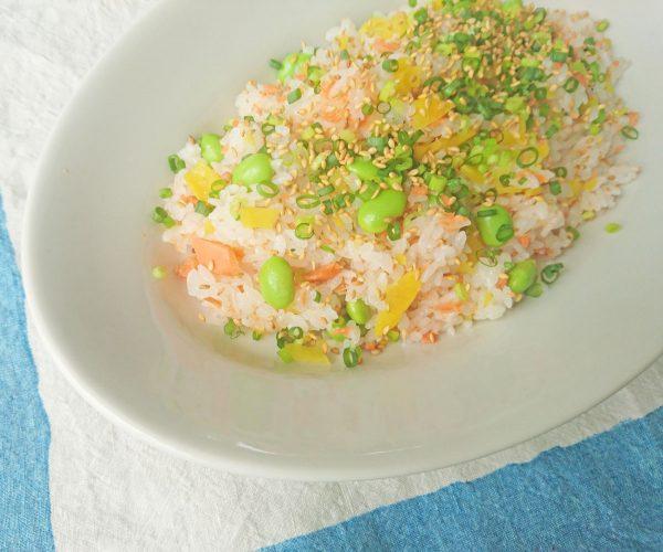 夏の朝は混ぜるだけ!さっぱりおいしい「混ぜご飯」2種 by:料理家 村山瑛子さん
