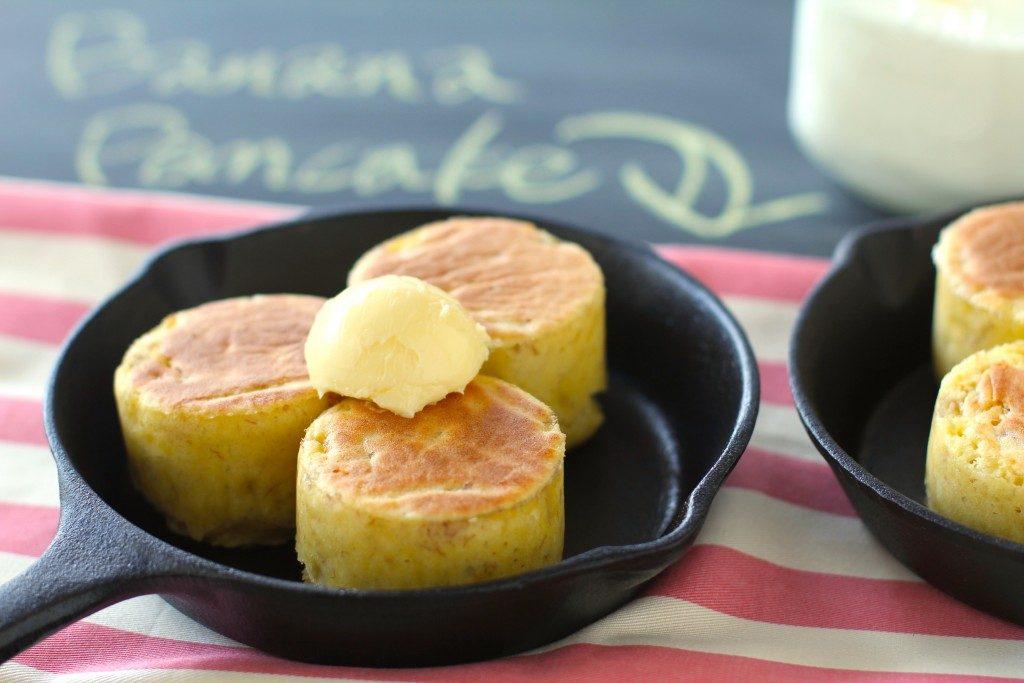 夏休みにお子様と一緒に♪ ふんわり厚焼きバナナパンケーキ by:五十嵐ゆかりさん