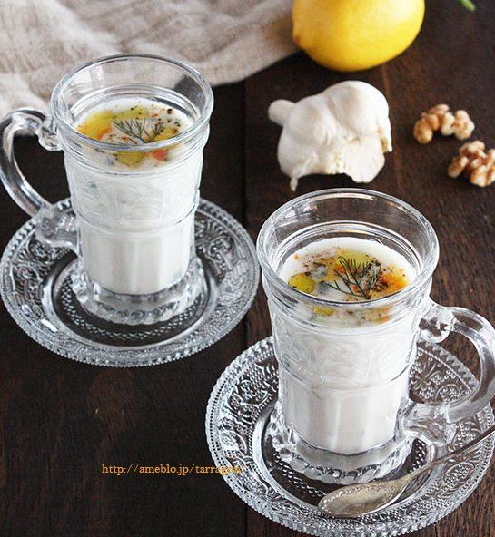 花粉症に!混ぜるだけ、塩味のヨーグルトスープ「タラトル」 by:タラゴン(奥津純子)さん