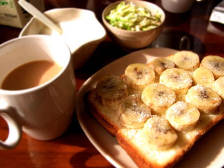 バナナとクリームチーズのトースト by:★miki★さん