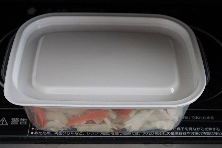 レンジ野菜炒め