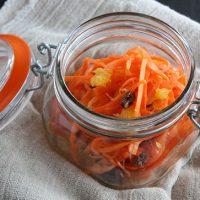 しゃきしゃき!ビタミンたっぷり「生ハムとオレンジのキャロットラペ」♪