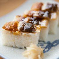 「押し寿司」を2単語の英語で言うと?