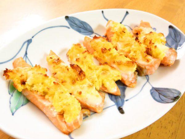 トースターで簡単☆鮭のマヨチーズパン粉焼き by:kaana57さん