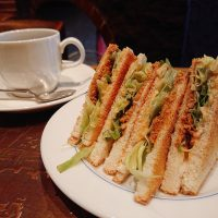 【大阪】400円でお腹いっぱい!サクサク「ツナトースト」モーニング@喫茶 新北浜