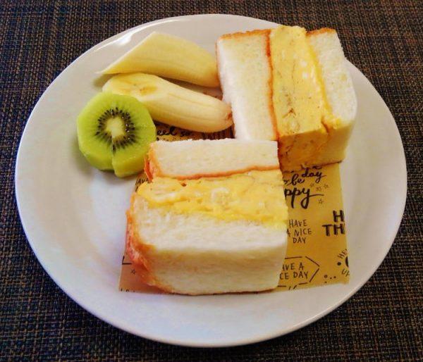 (ふわふわ出汁巻きたまごのサンドイッチ♪~♪by:みなづきさん)