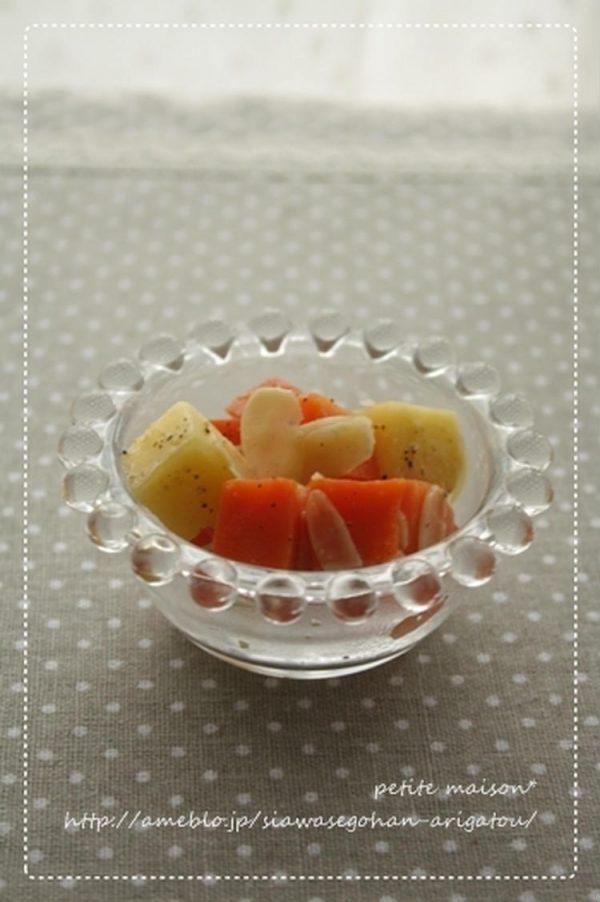 人参とチーズのグラッセ by:まめこさん