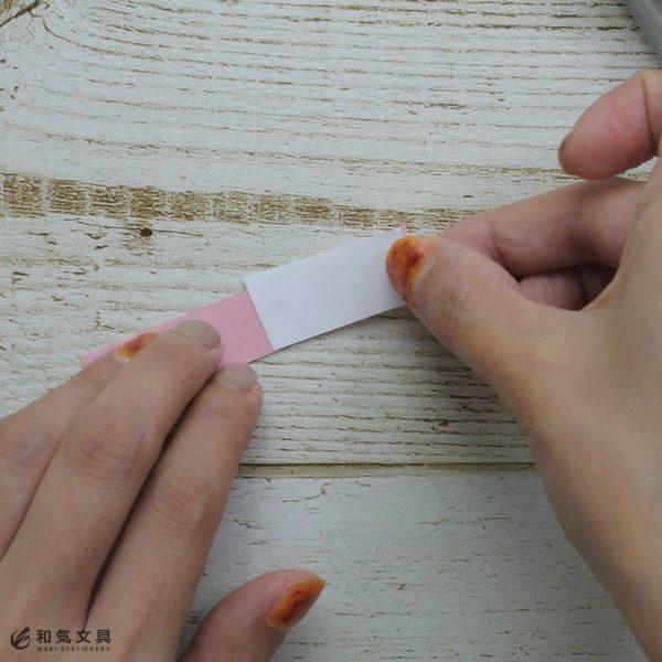 剥がせるから便利!手帳に使える「穴あきふせん」の作り方♪