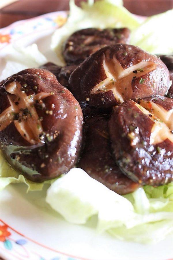 <お弁当や付け合わせに椎茸の香草オリーブ焼き> by:はーい♪にゃん太のママさん