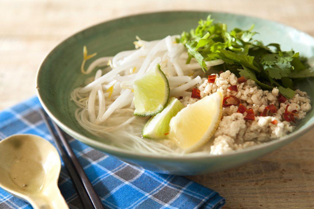 二日酔いの朝にも◎!作り置きの鶏そぼろで簡単「フォー風にゅうめん」 by:FOOD unit GOCHISOさん