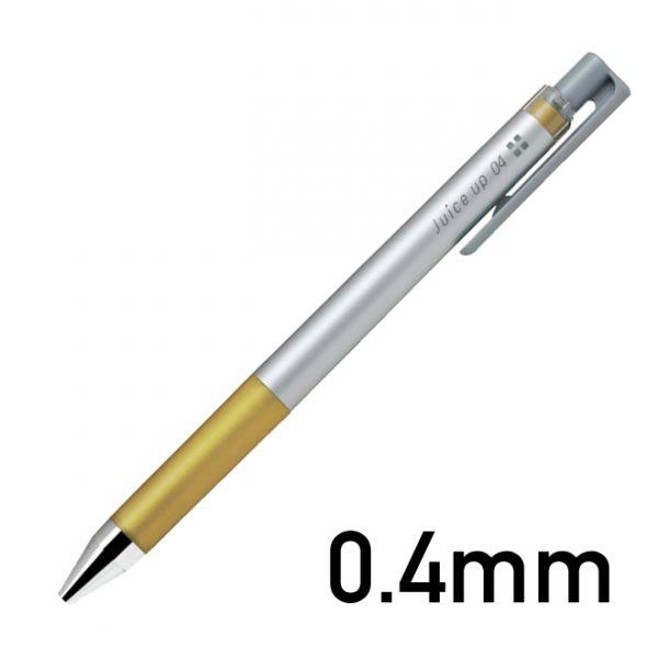 パイロット PILOT ゲルインキボールペン ジュース アップ 04 メタリックカラー インク色:ゴールド