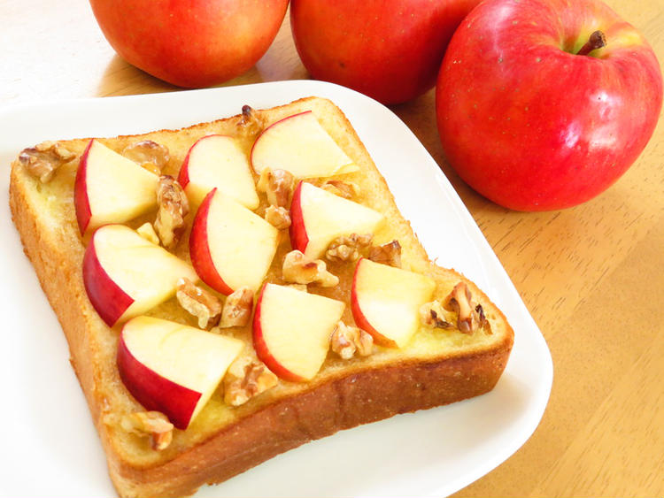 りんごとくるみのハニートースト♪ by :kaana57さん