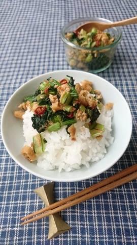 作り置きしておくと便利!ご飯がすすむ「小松菜ふりかけ」 by :料理家 村山瑛子さん