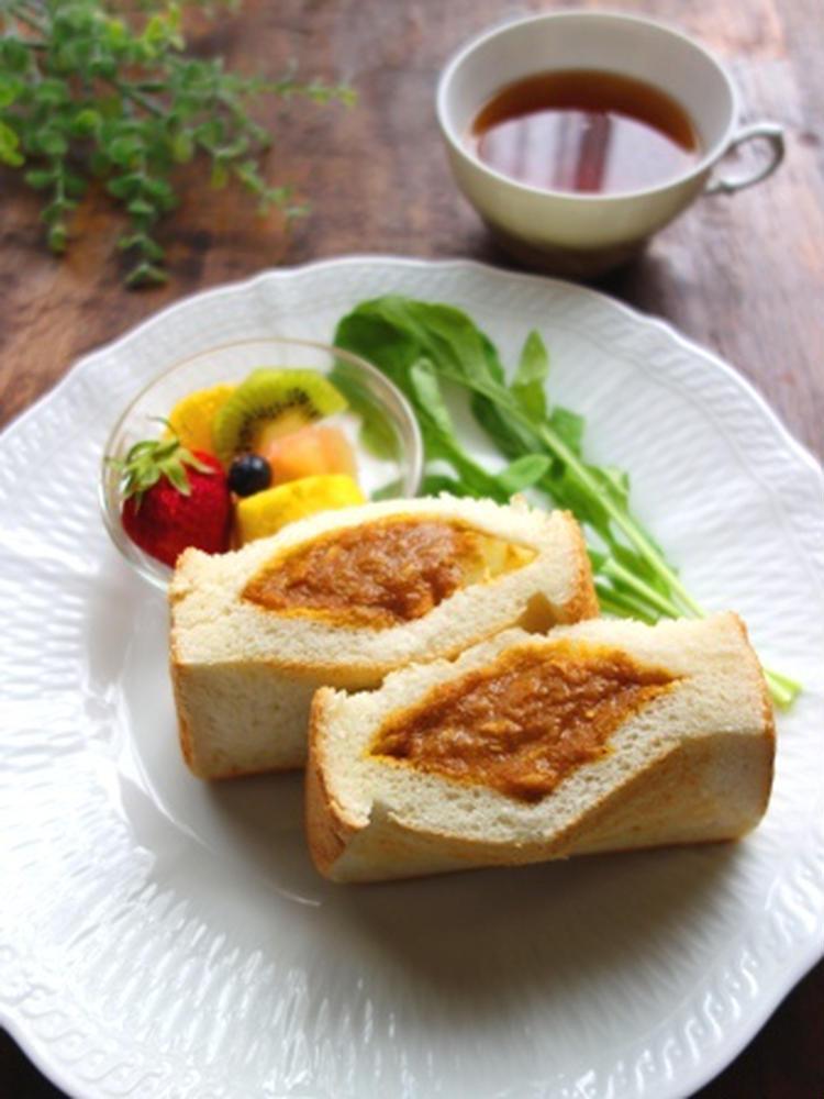 ポケットサンドで簡単☆カレーパン by:Y'sさん