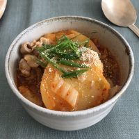 免疫力アップ!豚ばら肉を使えば簡単「カムジャタン風スープ」