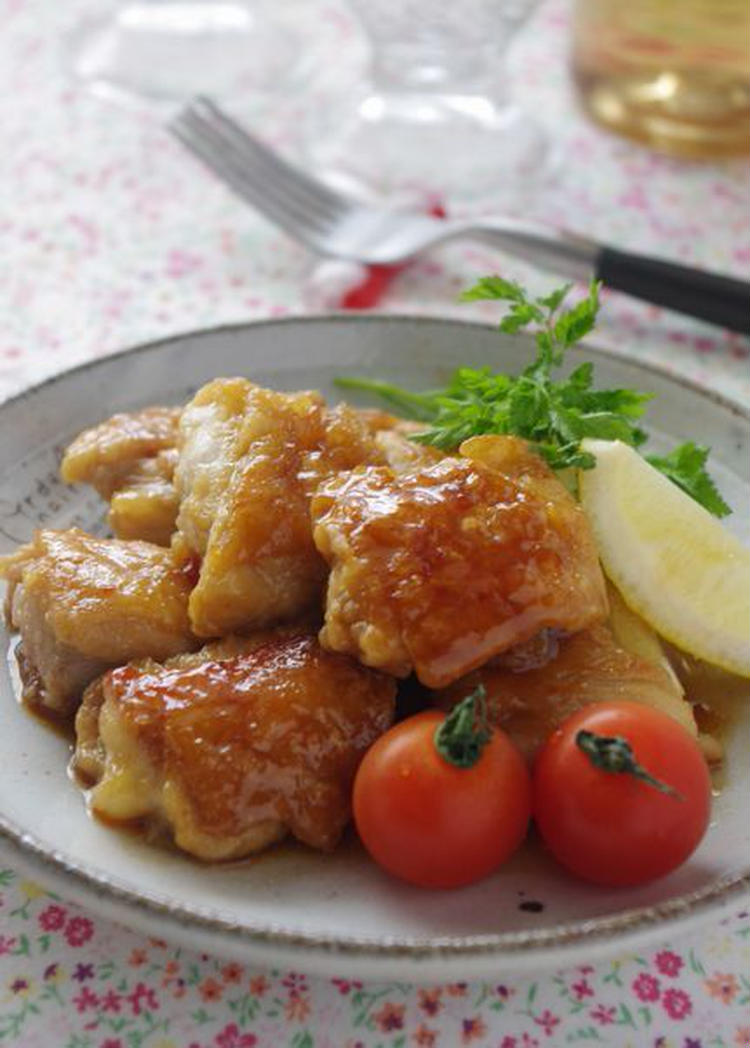 鶏肉のスイートチリソース炒め by :高羽ゆきさん