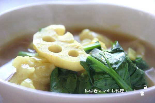 スープカレーすいとんの朝ごはん by :nickyさん