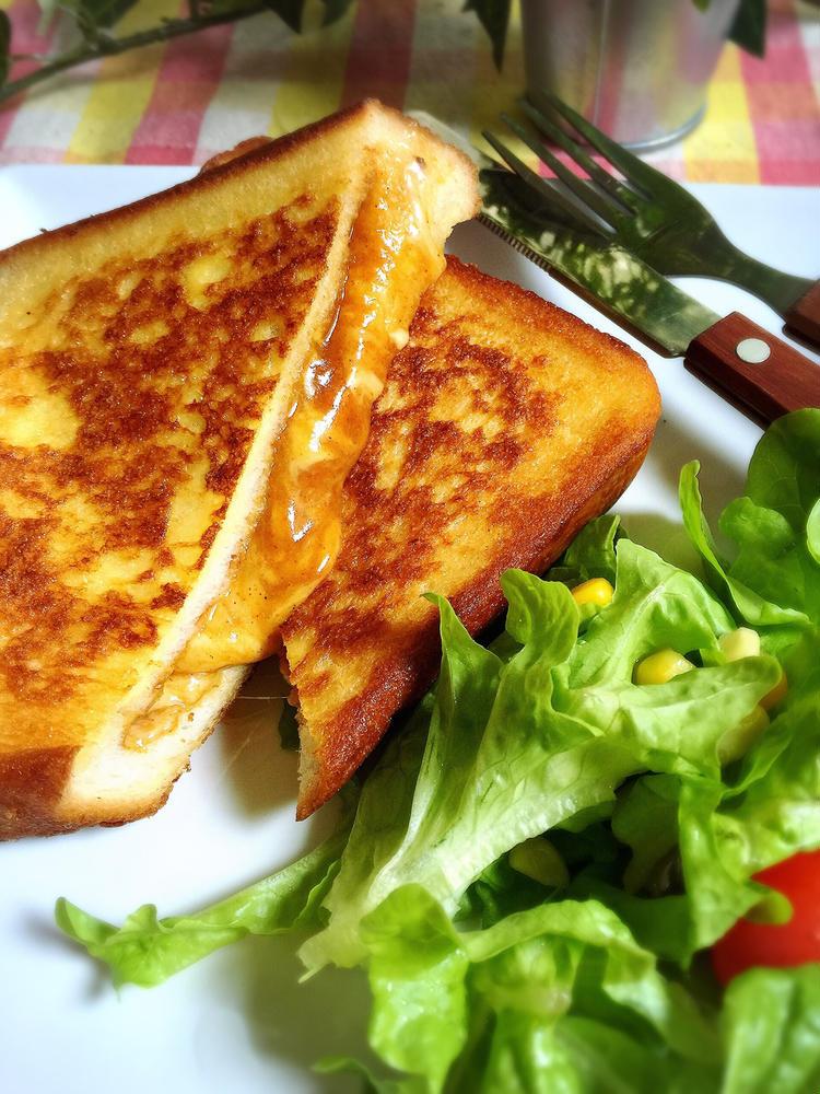 チーズカレーのフレンチトースト by:こっぷんかぁちゃんさん
