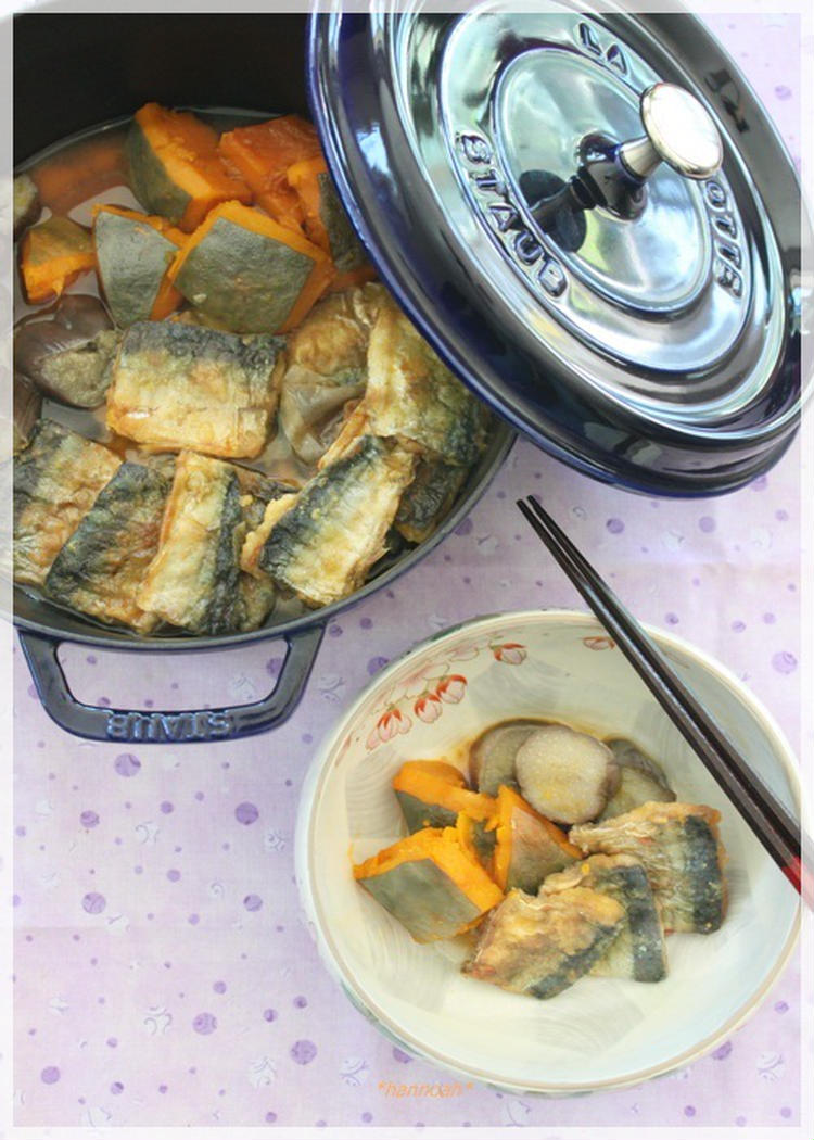 (カレー風味の秋刀魚と野菜の煮物 by:hannoahさん)