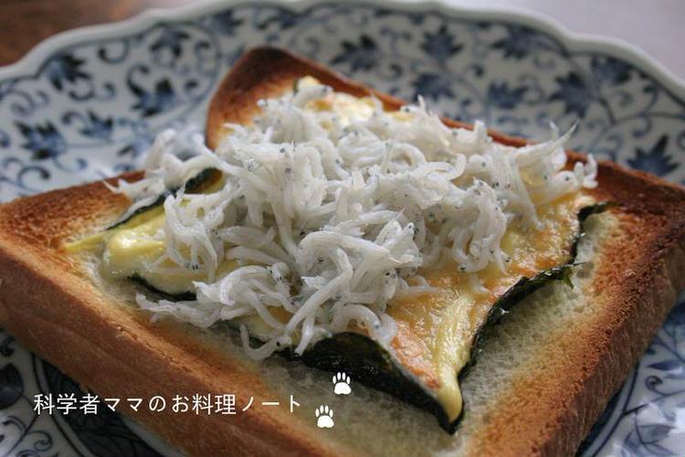 海苔マヨチーズトーストのじゃこ乗せ by :nickyさん