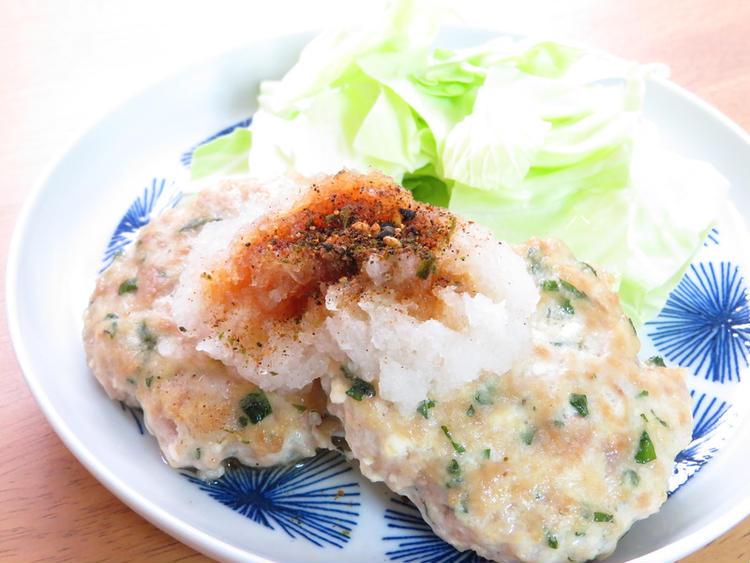 しそ入り♪豆腐ハンバーグ☆和風おろし  by :kaana57さん