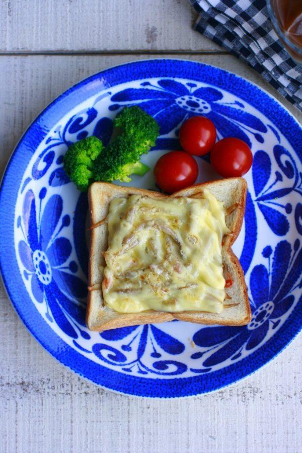 きんぴらごぼうでお惣菜トーストを作ろう!チーズとろける和ブランチ♪  by :大本紀子さん