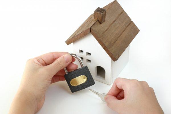 家の防犯イメージ