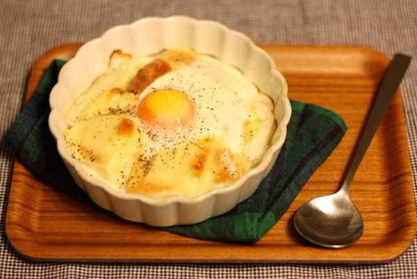 (落とし卵の♪お豆腐味噌グラタンby:yukariさん)