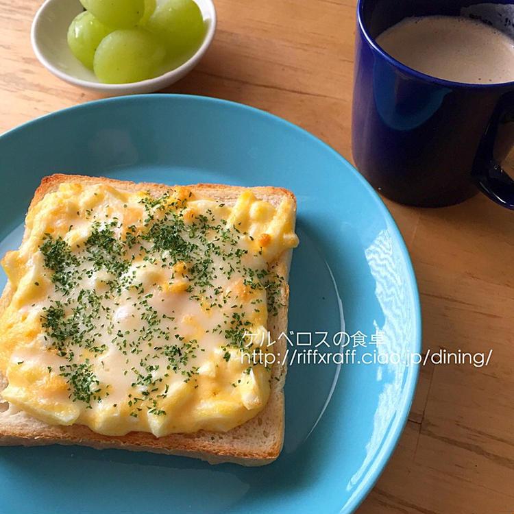 卵マヨチーズトースト  by :門乃ケルコさん