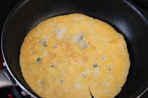 マヨ薄焼き卵