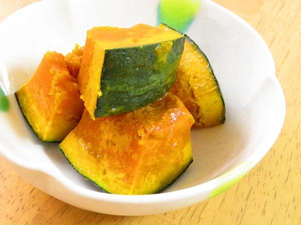 レンジで簡単☆かぼちゃのバター醤油 by:kaana57
