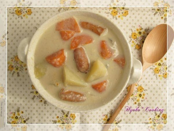 豆乳生姜風味の野菜シチュー by :ひょ子さん
