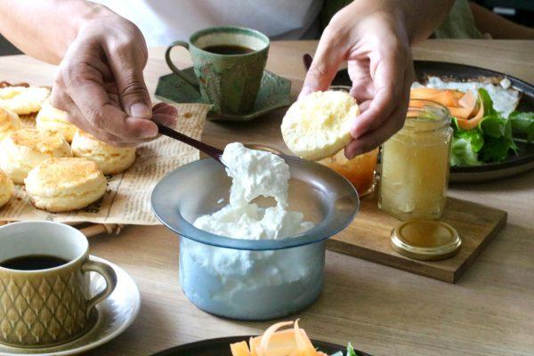 オシャレな英国風朝食から始まるわたしの朝時間♪ふわっ!サクッ!「プレーンスコーン」の作り方