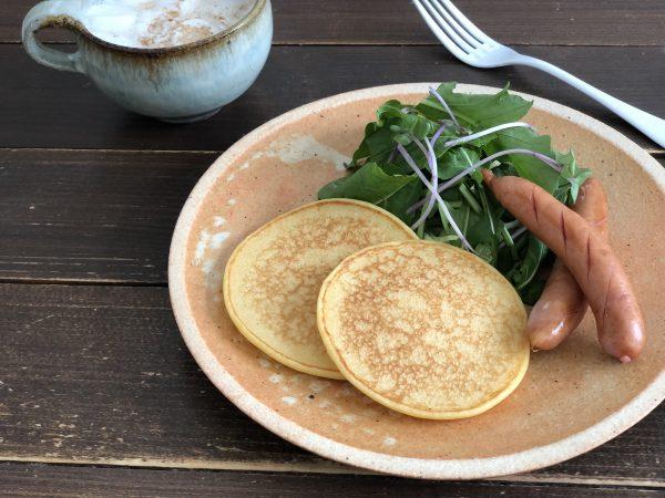 甘酒と豆腐のパンケーキ