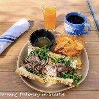 西海岸の定番サンドイッチと久々の英語表現