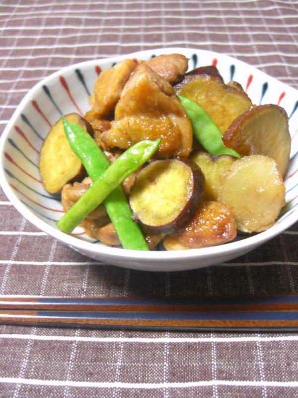 鶏肉とさつまいものはちみつ生姜煮 by:ゆりりんさん
