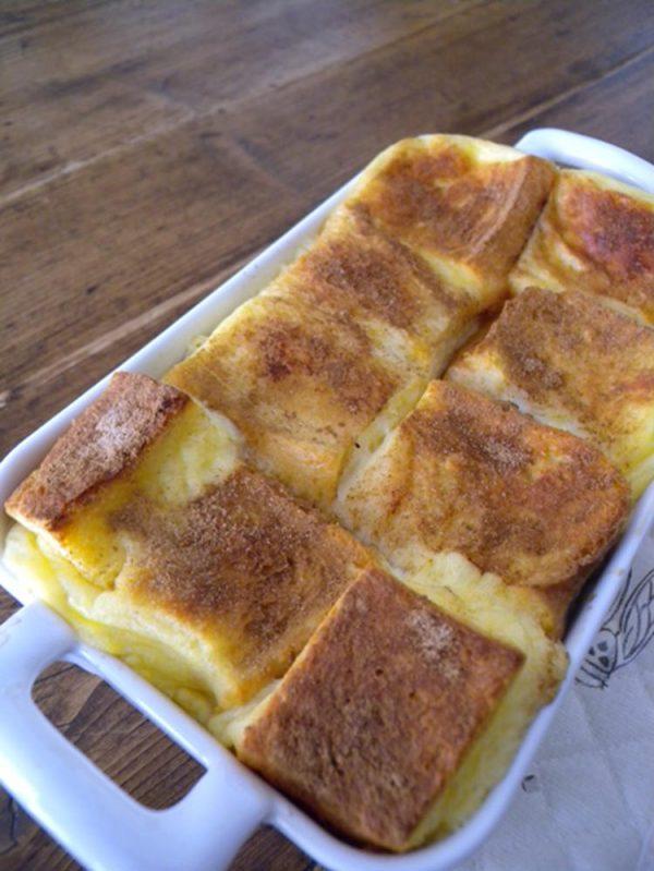 胃にやさしい 食パンのsweetグラタン by :マルシェさん