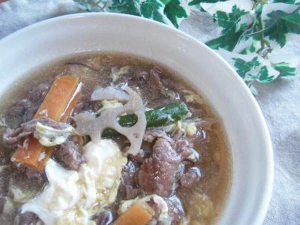 (誰でも美味しく作れる♪牛肉と根菜のクッパ♪~アレを使うよ♪~ ?by :toshieさん)