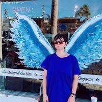 カリフォルニアの天使の壁