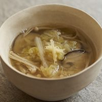 年末の胃腸をやさしくケア!とろ~り温まる「白菜の葛汁」